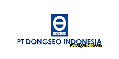 Lowongan Kerja PT Dong Seo Indonesia Karawang 2020