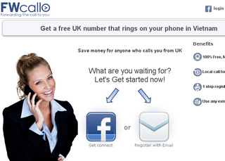 FWCall : Get Free UK Mobile Number