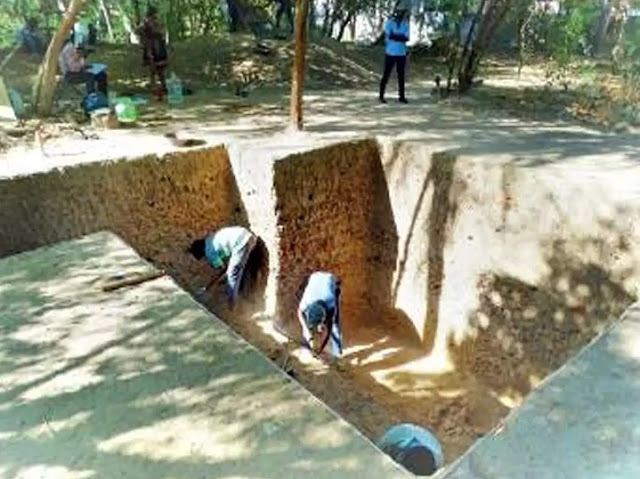 Evidence of Sangam Age settlement unearthed at Nangur, Tamil Nadu