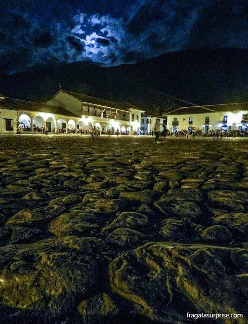 Plaza Mayor de Villa de Leyva, Boyacá, Colômbia