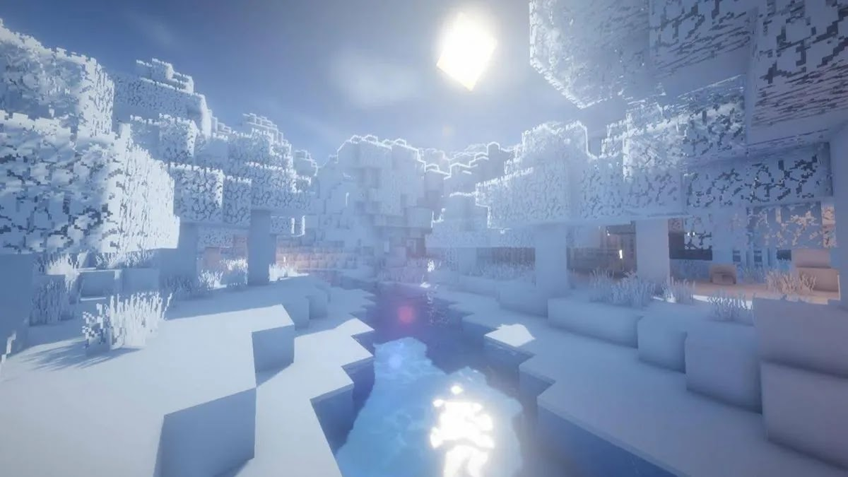 Minecraft Caves & Cliffs Part 1: all the changes in snow and freezing