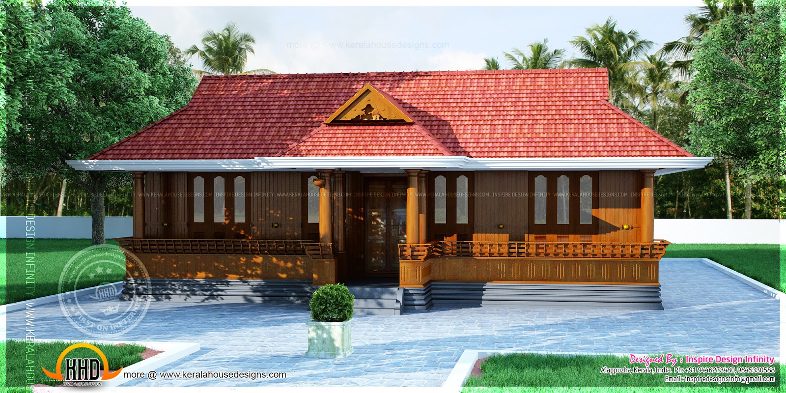 Kerala nalukettu home plan kerala home design and floor for Small traditional home plans