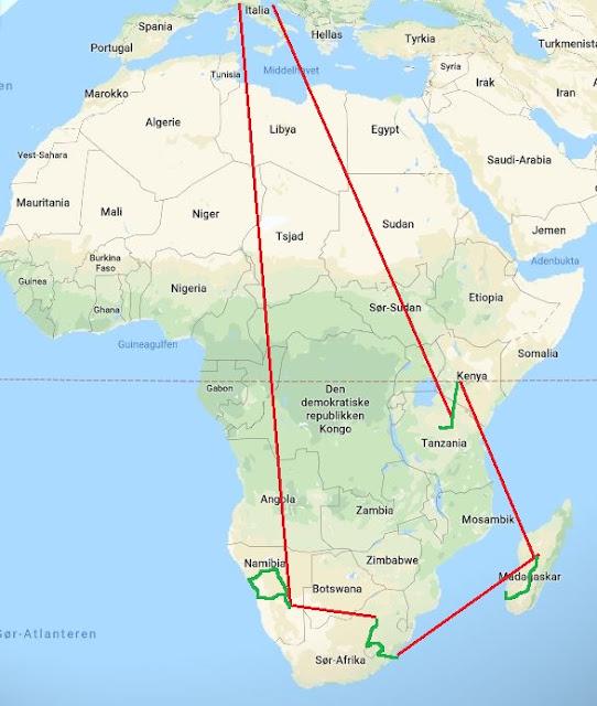 Kirsti Og Jan I Afrika 2019