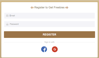 Register to a new account