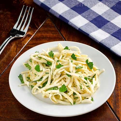 Celery Root (Celeriac) Rémoulade