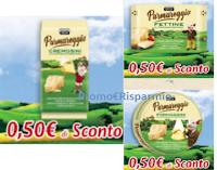 Logo Parmareggio coupon Fettine, Cremosini, Formaggini! 6 buoni sconto da stampare