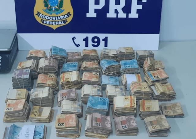 Homens são presos com quase R$ 200 mil em compartimento secreto de carro, em Vilhena