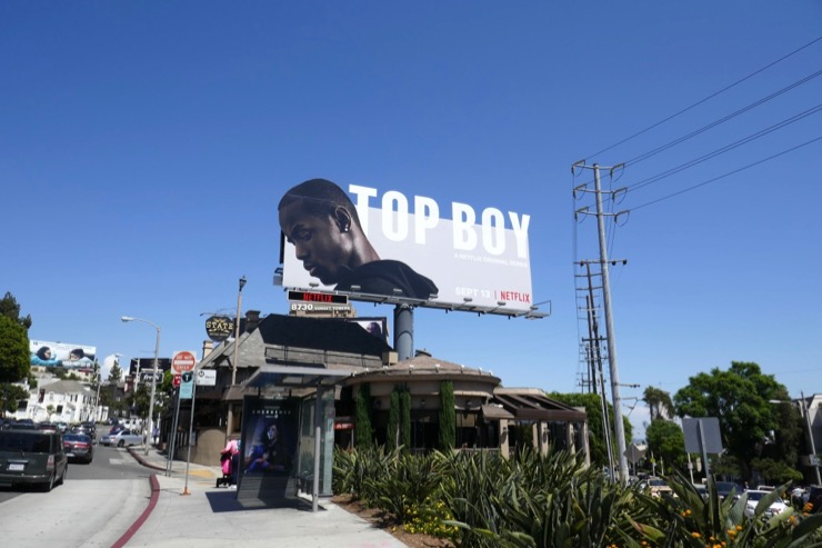 Top Boy season 3 billboard