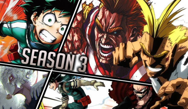 Boku no Hero Academia Season 3 Mengungkapkan Artis yang Akan Mengisi OP dan ED