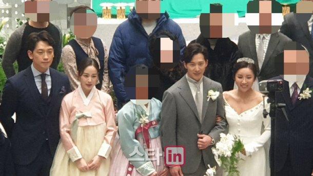 Kim Tae Hee'nin kardeşi aktör Lee Wan evlendi