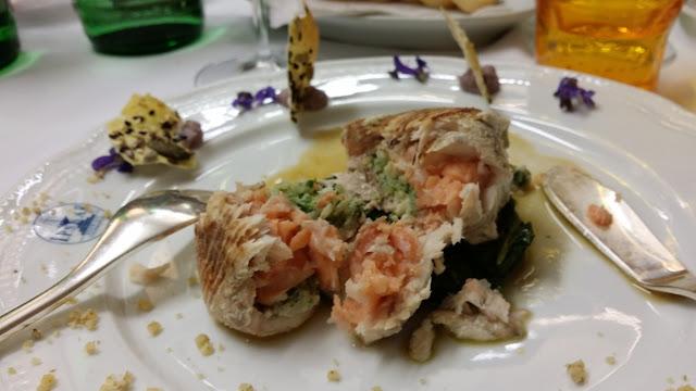 Un fiore nel piatto 2017 Chef Marco Di Dedda La Corte Di Bacco Edolo