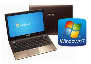 Trik Instal Windows 7 di Asus A456UR