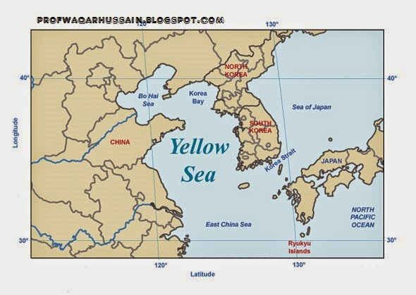 """Articles: WHY THE YELLOW SEA IS CALLED THE """"YELLOW SEA""""?"""