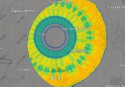 Enorme anomalia de 300 km de diâmetro