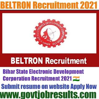 BELTRON Recruitment 2021