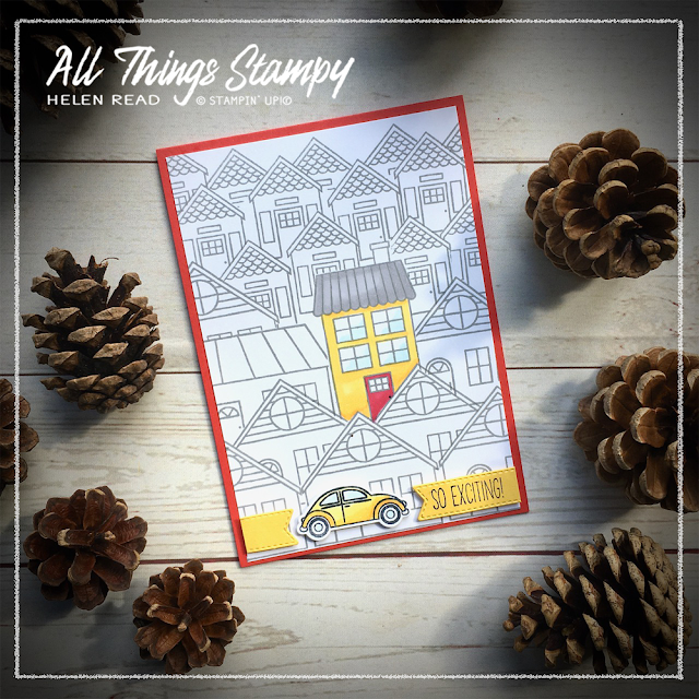 Trimming the Town Stampin Up ideas Allthingsstampy