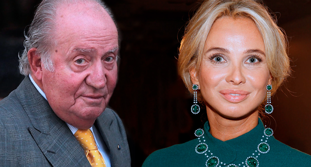 Denuncian a Juan Carlos de Borbón y su 'amiga entrañable' por presuntas prácticas delictivas