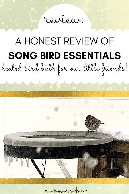 Songbird Essentials SE995 Songbird Spa heated bird bath how does it work