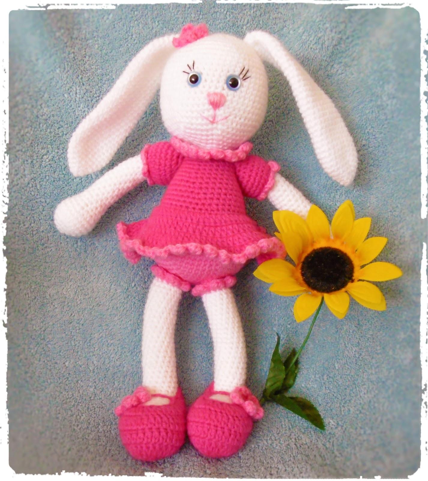 Amigurumi Janes : Kirju Mirju kasit??.: Amigurumi Jankud. Amigurumi Bunny.