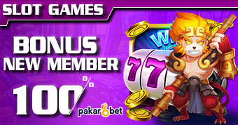 PAKARBET | BONUS NEW MEMBER SLOT GAMES