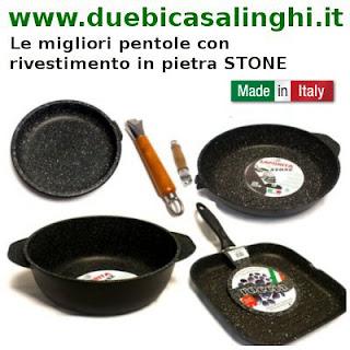 Pentola con rivestimento in pietra Stone