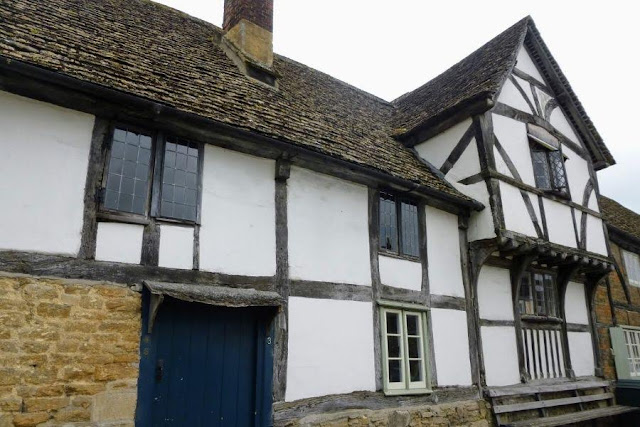 Places to visit near Bath UK - Half-timbered House in Lacock
