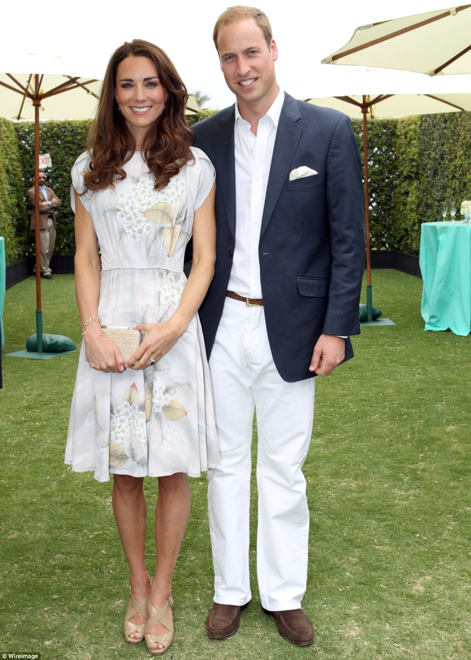 The Daily Catherine Kate At Polo Match In Jenny Packham
