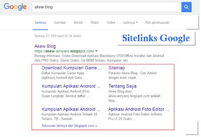 Cara Membuat dan Mendapatkan Sitelink dari Mesin Pencarian Google