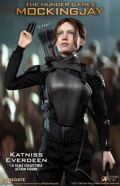 osw.zone (19459002)  The hunger - The hunger - The hunger The hunter - The hunger The hunter - The hunt for the hunter Jennifer Lawrence as Katniss Everdeen 12 inch female figure
