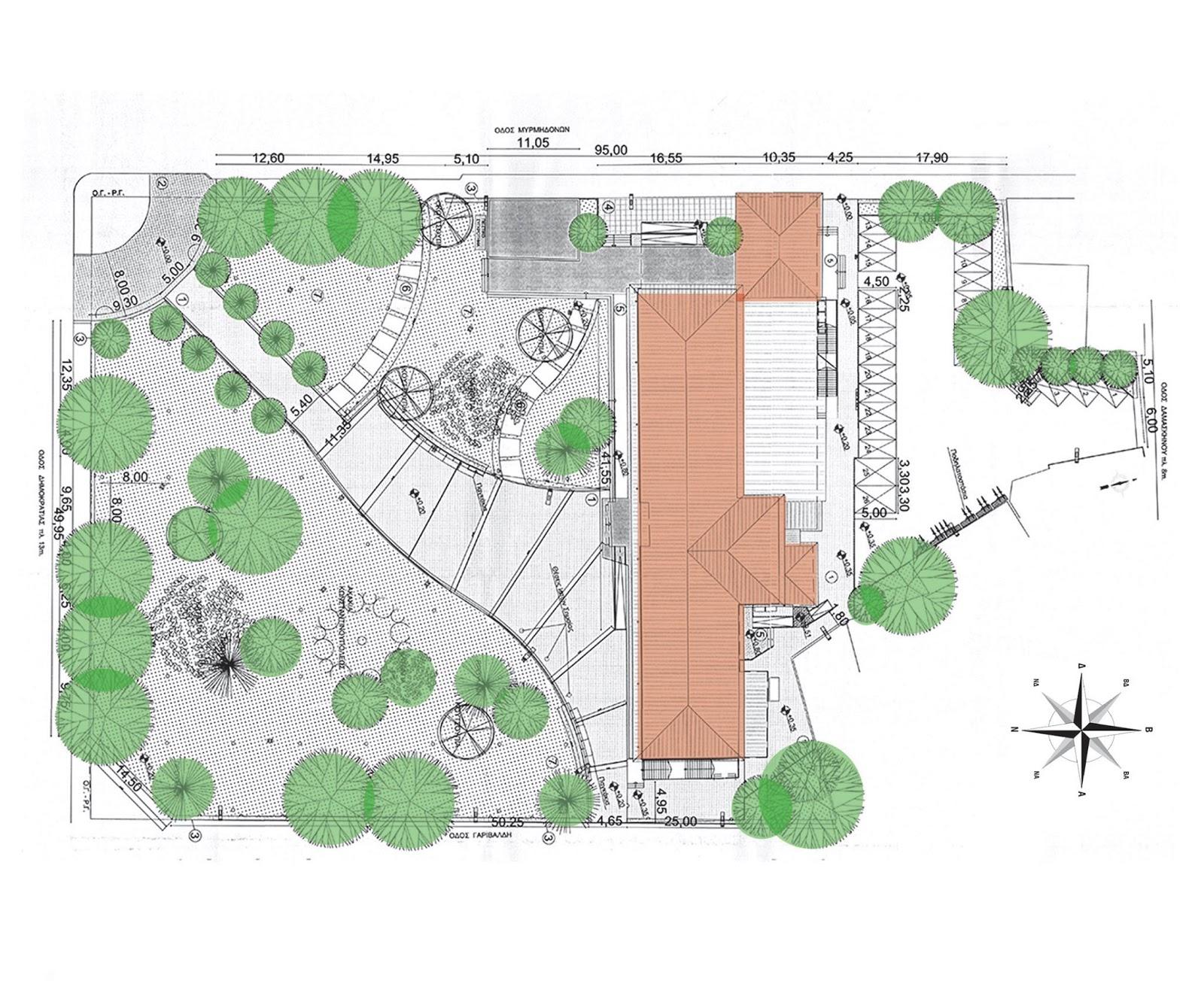 Εγκρίθηκε η ανάπλαση του αύλειου χώρου στο νέο Δημαρχείο Καρδίτσας