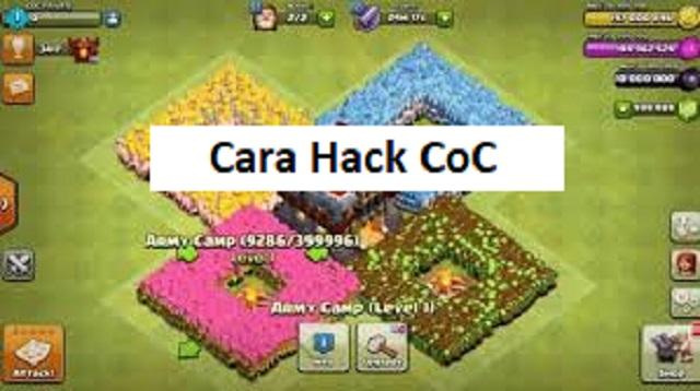 Cara Cheat COC atau Cara Hack COC