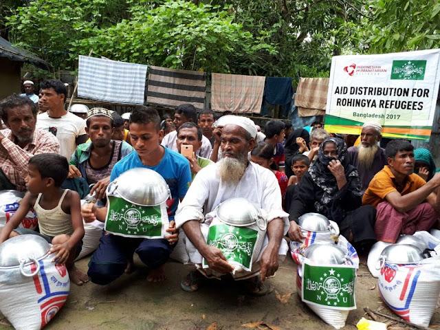 Tidak Hanya akan, Delegasi NU Serahkan Langsung Bantuan untuk Rohingya
