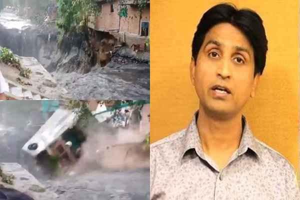 kumar-vishwas-reaction-on-delhi-anna-nagar-flood-arvind-kejriwal-ad