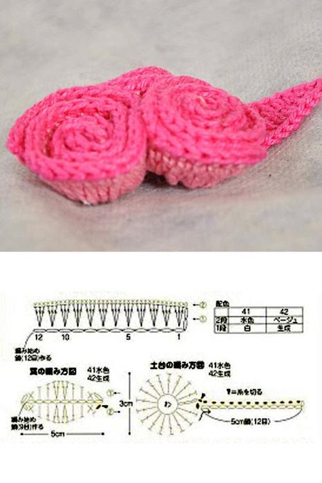 MAESTRA NEILA: bonitas flores - Tejidos a crochet