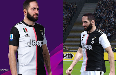 PES 2020 Tattoo Gonzalo Higuain by SuperNova
