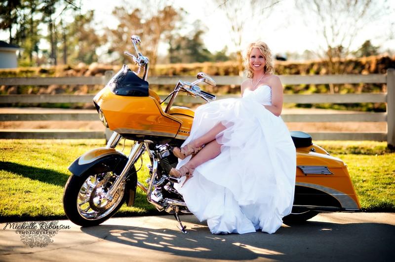 Greensboro Harley Davidson >> Michelle Robinson Photography: Cameron's Harley Davidson Bridal Portrait + Raleigh, NC