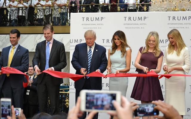 Трамп і його родина