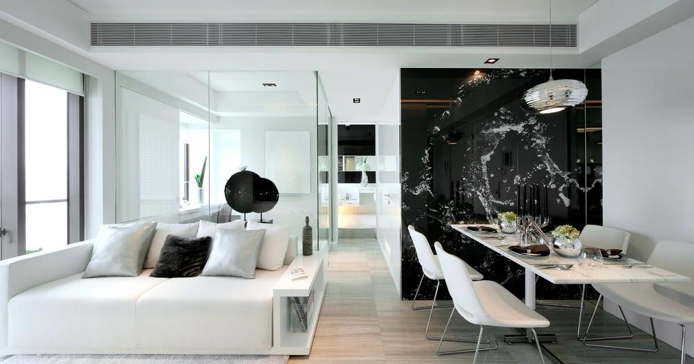 appealing black white minimalist interior design   ÉPÍTÉSZ BELSŐÉPÍTÉSZ BLOG: Minimalist Interior Design in ...