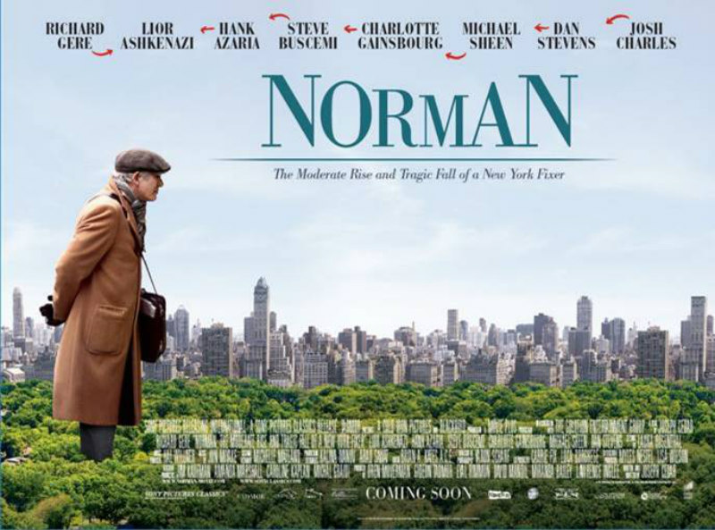 norman richard gere poster