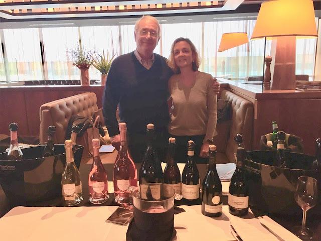 Anselmo Chiarli and Beatrice Pellini of Cleto Chiarli