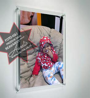 Acrylic Frame Poster Acrylic, akrilik frame untuk dinding