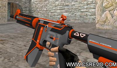 Skin M4A4 - Storm HD - CS 1.6