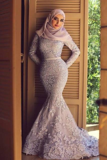 فستان يشبة حورية البحر للمحجبات