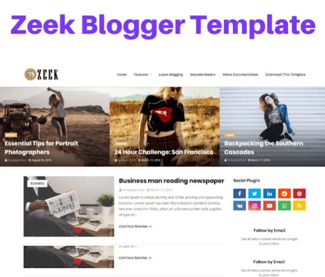 zeek blogger template, bootstrap blogger templates free download, bootstrap