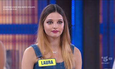 Laura Calgani concorrente avanti un altro 16 marzo