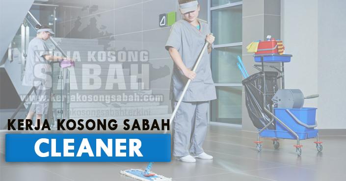 Kerja Kosong Sabah Ogos 2021   CLEANER - Bataras Kolombong