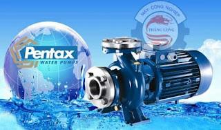 Máy bơm nước trục ngang Pentax chính hãng, giá rẻ