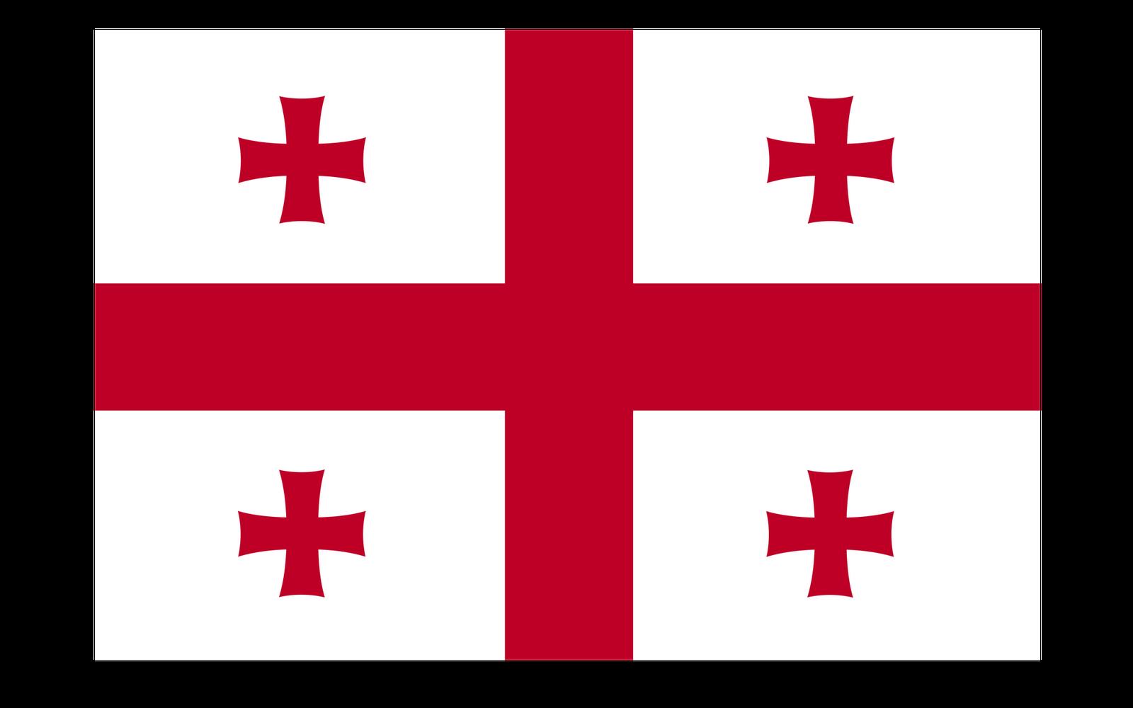 World Flags: Georgia Flag hd Wallpaper