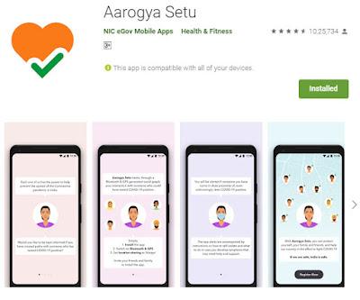 aarogya setu app download in hindi