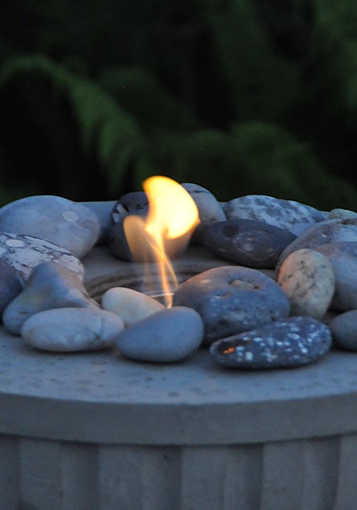DIY-Feuerschale aus Beton selber giessen